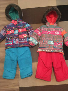 ** FREE GIRLS SNOW SUITS **