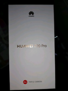 Huawei P20 Pro 128gb black unlocked