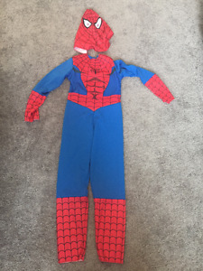 Spiderman Costume (Size 6) and Brand New Watch $20