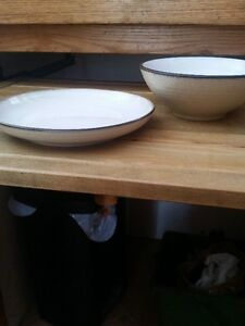 Taupe stoneware dishes wanted