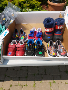 Size 5 baby shoes and boots