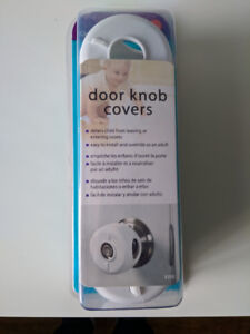 Child Safety Door Knob Covers - 3 Pack