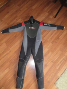 Mares 6.5mm Isotherm Semi Dry Wetsuit, men's large, (dry suit)