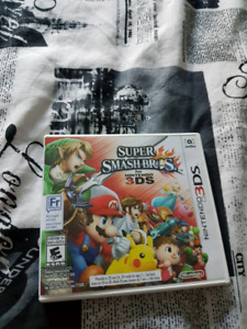 Smash bros 3ds trade for big nintendo games or 30$