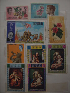 Selling My Stamp Collection--Grenada