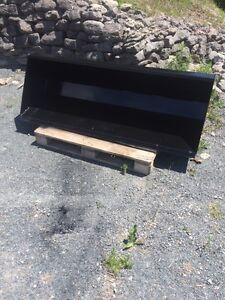 Skid Steer material bucket