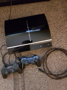 $80 firm  ps3  and 1 wireless shock controller