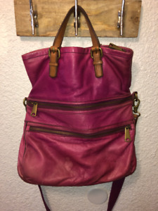 Fossil Explorer Tote For Sale (Grape)