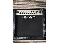 Marshall guitar amp great condition