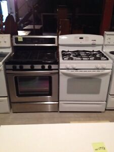 2 gas stoves GE and whirlpool  Stratford Kitchener Area image 1
