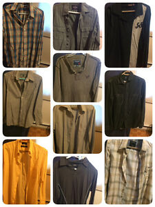Lot 13 shirts  for $85 Size small some Medium but fits small bra Kitchener / Waterloo Kitchener Area image 1