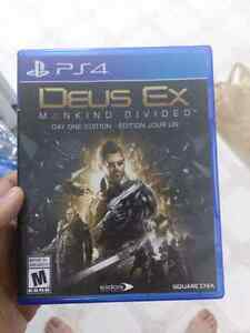 Dues ex mankind divided like new $50 London Ontario image 1