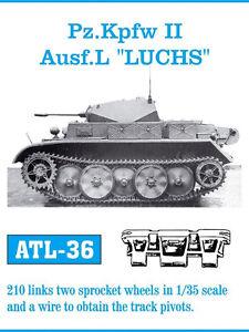 1/35 ATL36 FRIULMODEL METAL TRACK FOR GERMAN PANZER II L LUCHS for TASCA PROMOTE