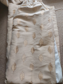 """heavy duty lined curtains 66""""x90"""" x 3 pairs"""