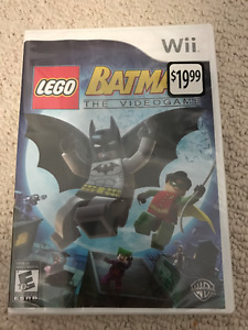Lego Batman The Videogame Wii Brand New Sealed
