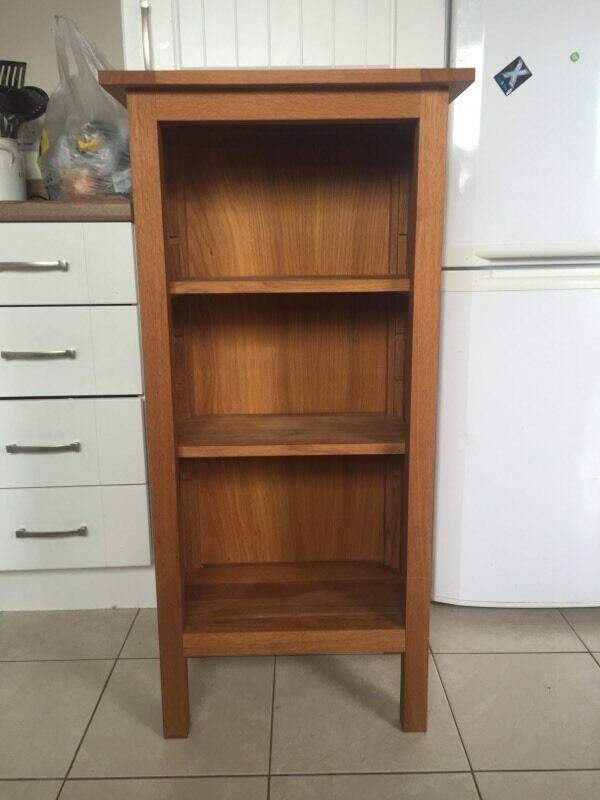 Oak Book Case / shelves | in Teignmouth, Devon | Gumtree