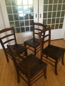 Dining Chairs (PICK UP only) wooden