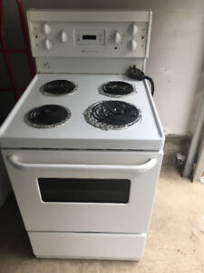"Frigidaire 24"" coil stove range oven for restricted space"