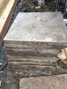 Dalle de ciment x13