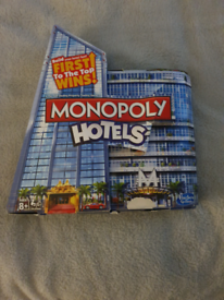 Monopoly hotels Board game