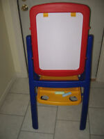 Easel with Whiteboard and Chalkboard FOR SALE