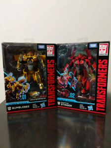 Transformers SS Bumblebee01 and Stimger02