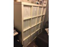 IKEA expedit 4 X 4 white shelving unit