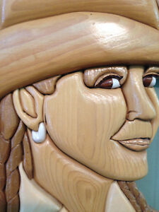 Cowgirl by Woodworker Willie Kingston Kingston Area image 4