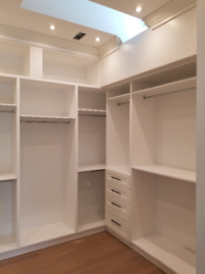 CUSTOMIZED KITCHEN CABINETS, VANITIES, LAUNDRY ROOM, CLOSETS