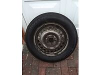 Ford Transit connect wheel & Tyre 195 /65 R15