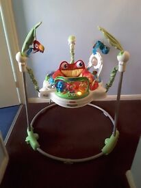 Jumperoo baby bouncer - lights and sounds