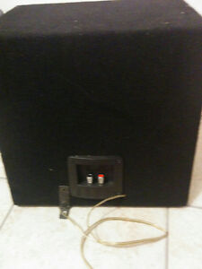 "Subwoofer speaker 10"" box & Amp 250 watts. Cambridge Kitchener Area image 2"