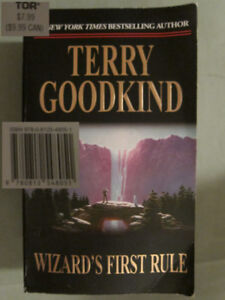 Wizard's First Rule (Sword of Truth Book 1) (Retails $10) $3.50