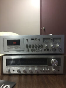 Vintage receiver and recorder