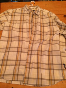 Patagonia long sleeved Button Shirt Mens M organic cotton color