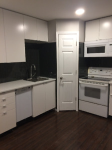 Renovated 1 bedroom all inclusive, avail. March 1st