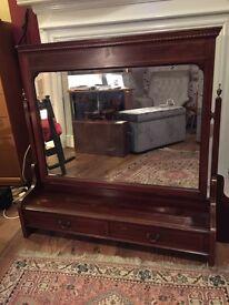 Large Victorian/Edwardian Inlaid Mirror