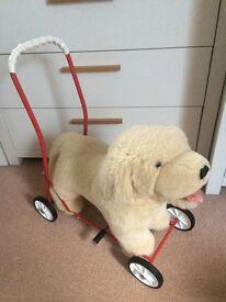 Ride on dog