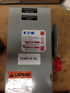 60 amp Non-Fused 3R Rated Disconnect Switch Kitchener / Waterloo Kitchener Area image 1