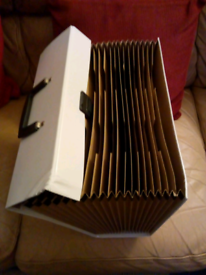 Box File, expanding, good condition, £3