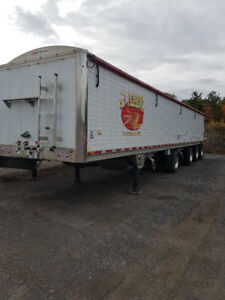 2013 WILSON GRAIN HOPPER TRAILER