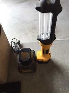 Dewalt Batteries and Light