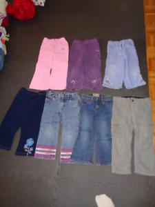 Vêtements pour fille (automne-hiver) 3 ans
