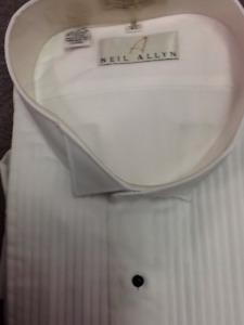 tuxedo shirt size 19 - 37