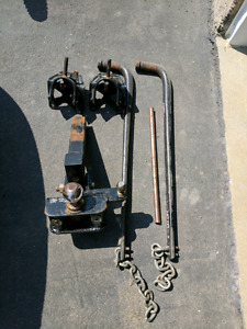 Tow power weight distribution hitch