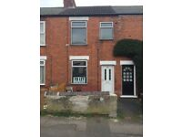 NEWLY DECORATED 2 BEDROOM HOUSE TO RENT IN CRESWELL AREA OF WORKSOP £395PCM *DSS CONSIDERED*
