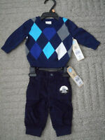 Nevada baby boy dressy outfit, 3 months (13lb)