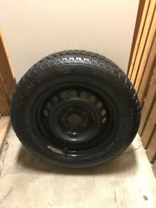 Four rims and Winter Tires 195/65R15 91S