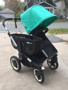 Bugaboo Donkey stroller system, complete with many, many extras