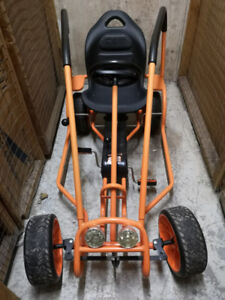 GREAT XMAS GIFT! Hauck Thunder II Pedal Go Kart, Orange